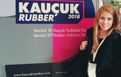 Maniotis A & S company in 9th Rubber Exhibition in Istanbul