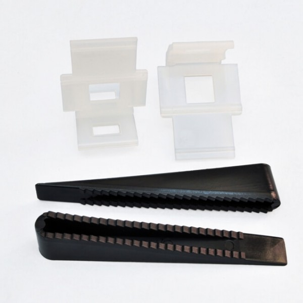 Tile straightening wedges-spacers-clips