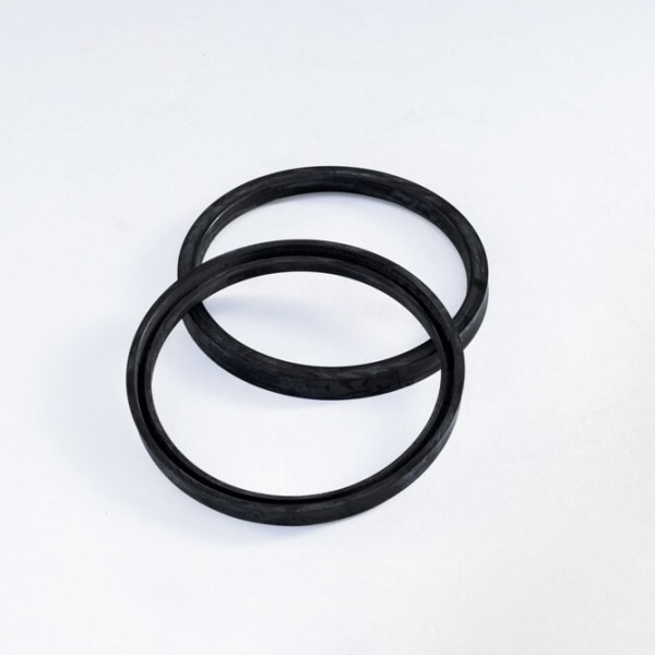 Tubes rubbers for turbine gaskets