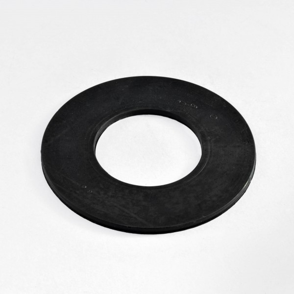Elastic gaskets without holes circumferentially