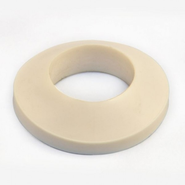 Conical rubbers for floats