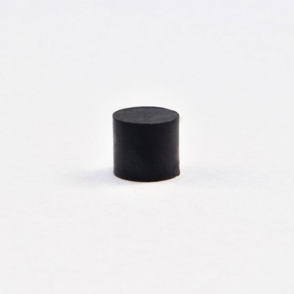 Rubbers for floats without holes